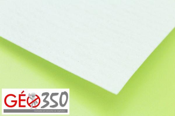 Géotextile GEO350 – Anti remontée de végétation